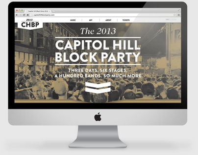 Capitol Hill Block Party Website