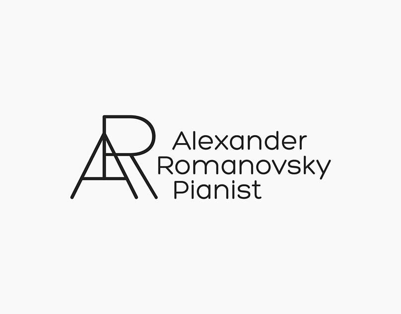 alexanderromanovsky.com / Logo / Identity / Web