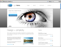 Website Design Template #BC