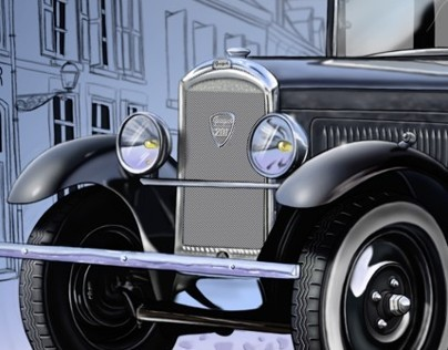 PEUGEOT 201 illustration (1931)