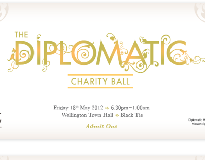 Charity ticket design