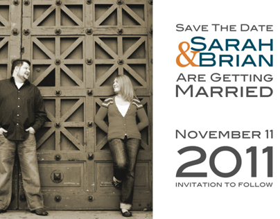 Save The Date - Post Cards