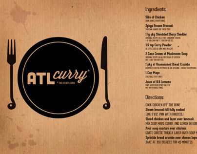ATL Curry Recipe