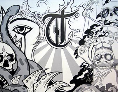 Tatta Tattoo wall