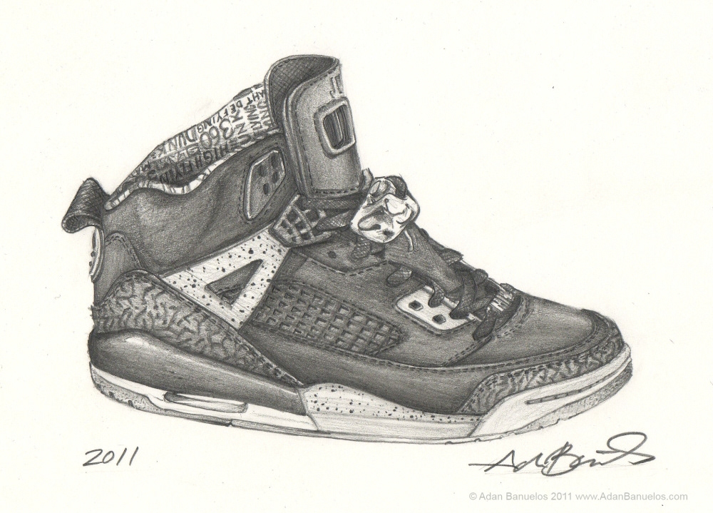 Jordan Spizike Drawing