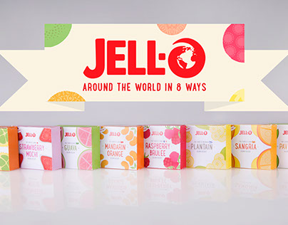 Around the World in 8 Ways Jello Campaign