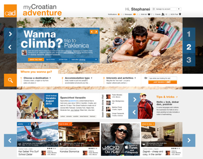 My Croatian Adventure - Tourism & Travel Web Portal
