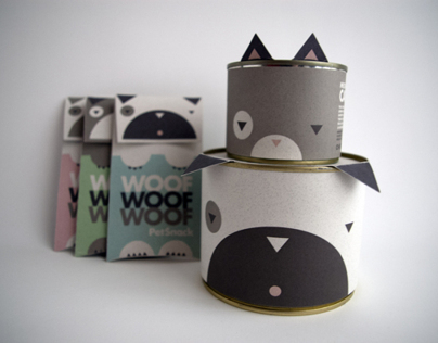 Cute PetFood Packaging