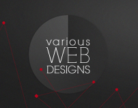 : various web designs