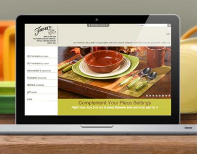 Homer Laughlin China Company Fiesta® Website