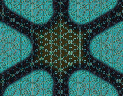 india textile inspired pattern panels 2