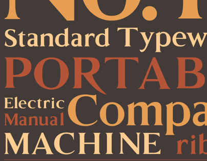 Remington Typefaces