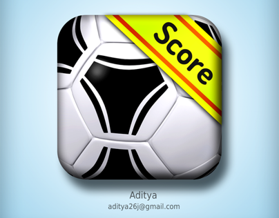 Football (soccer) ios app icon (fotmob)