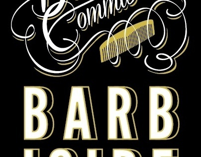 Promotional Barbershop Posters/Postcards