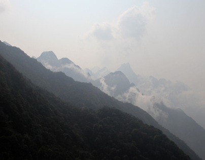 Fansipan mountain in Vietnam 2