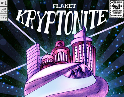 Concept Art | My Comic Book | Inspiration | KRYPTONITE