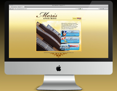 Moris Apartments - Web Site