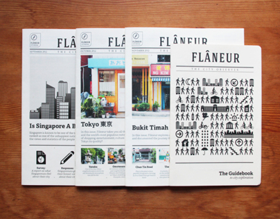 Flâneur Journals & Guidebook