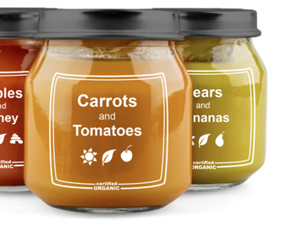 Earths Best Organic Baby Food - Rebranding