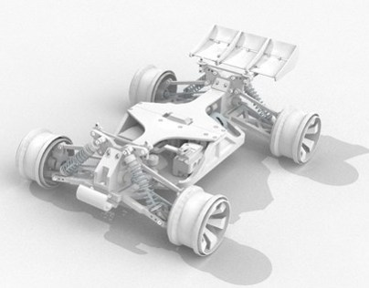 The OpenRC 3D Printable RC Car