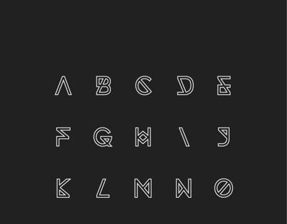 Synthetic Typeface