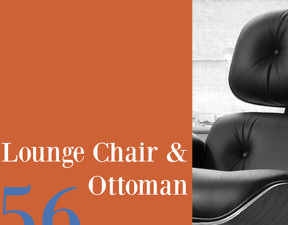 Eames 56 Lounge Chair & Ottoman Story