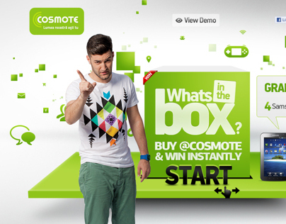 Cosmote Romania Message in the Box