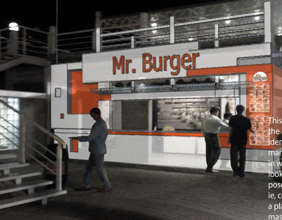 Mr Burger outlet @ PortGrand (Proposed)