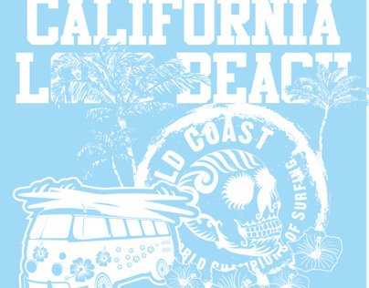 california long beach vector art