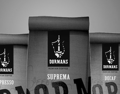 Dormans Coffee Identity/ Packaging