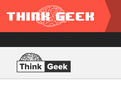 Think Geek Redesign