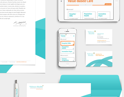 Valence Health: Brand Identity, Website, UI
