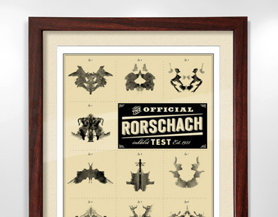 Rorschach Poster and Card Set
