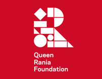 Queen Rania Foundation identity
