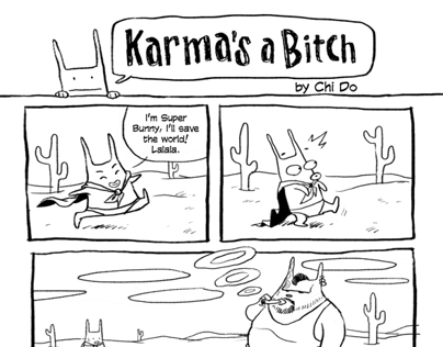 Super Bunny - Karma is a bitch