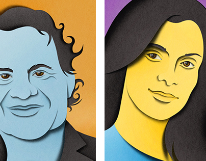 Portraits for Harvard Business Review