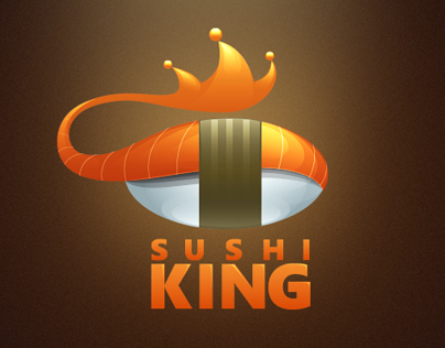 Sushi King Logotype