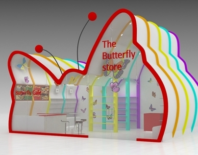 Butterfly gift store