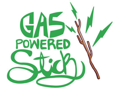 GAS POWERED STICK - BRAVEST WARRIORS