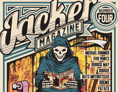 JACKER MAGAZINE COVERS