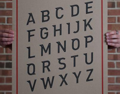 Hambone Notch Typeface