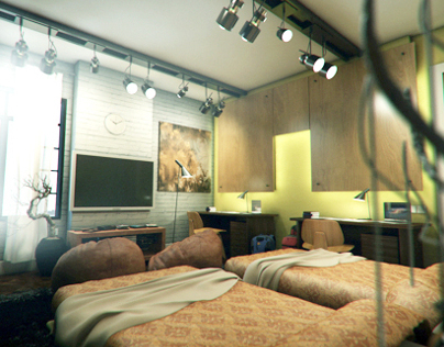 Private Residence in Maadi [Teenagers Bedroom]