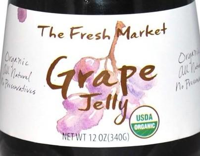 The Fresh Market Organic Jams & Marmalade