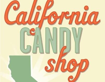 The Fresh Market California Candy Shop Sign