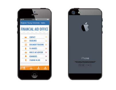 Iphone App Financial Aid Office