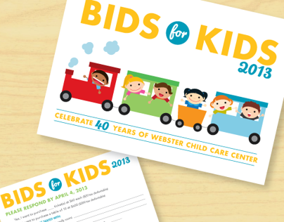 Webster Child Care Center: Bids for Kids 2013