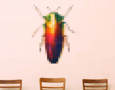 Pixellated Bug