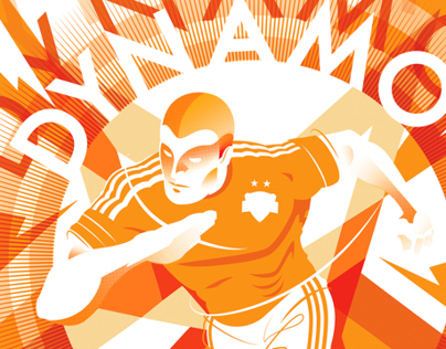 Houston Dynamo - Futbol Artist Network Poster