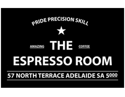 T Shirt Design for the Espresso Room, Adelaide