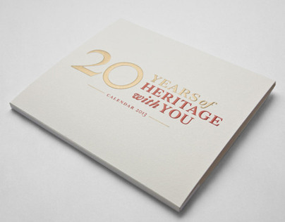 NHB: 20 YEARS OF HERITAGE WITH YOU